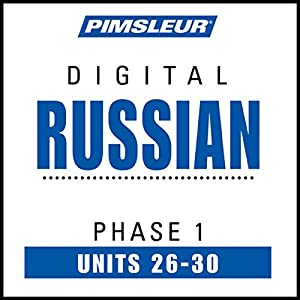 Russian Phase 1, Unit 26-30 Audiobook