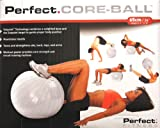 51r4SrhIdtL. SL160  Perfect CORE BALL Self righting Anti burts Fitness Ball 65 cm (26) with Pump