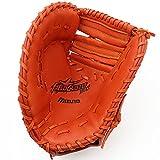 ミズノ(MIZUNO) フィールドグリスター MC 捕手・一塁手兼用 1AJCS12500 52 スプレンディッドオレンジ 左投用
