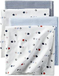 Carter\'s Baby Boys Receiving Blankets D06g002, Print, One Size