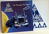Def Leppard DEF LEPPARD On through the night. debut album on Space ship Vertigo, first UK pressing 1980.