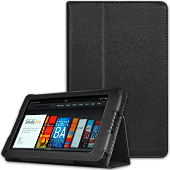 CaseCrown Bold Standby Case (Black) for Amazon Kindle Fire Tablet