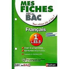 Français 1e L ES S