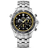 Omega Men's 21230445001002 Analog Display Swiss Automatic Silver Watch