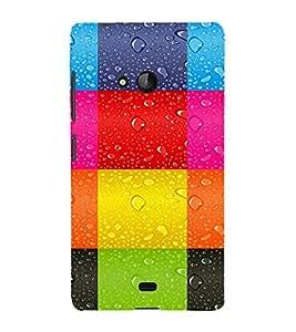 printtech Square Tiles Back Case Cover for Nokia Lumia 540::Microsoft Lumia 540