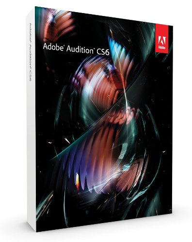 Adobe Audition CS6, Upgrade Version from Audition CS5.5 (PC)