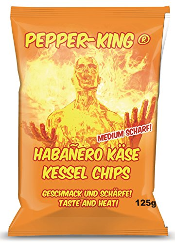 XOX Pepper-King Habanero-Käse Medium Hot (5 x 125 g)