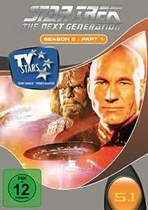 Star Trek - Next Generation - Season 5.1 (3 DVDs) [Import allemand]
