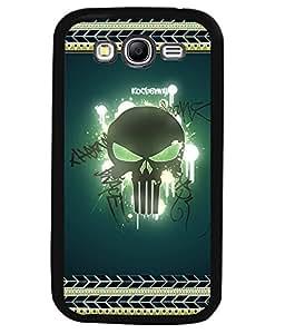 Fuson 2D Printed Skull Designer back case cover for SAMSUNG GALAXY GRAND 2 G7102 / G7106 - D4183