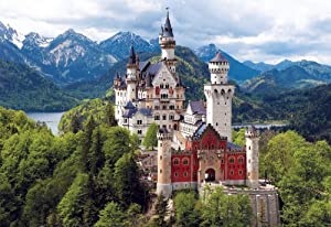 Buffalo Games 2000pc, Neuschwanstein Castle, Bavaria - 2000pc Jigsaw Puzzle