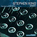 Misery Audiobook by Stephen King Narrated by Paul Barge