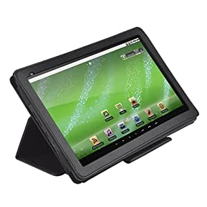 Creative 10-Inch Leather Protective Case for ZiiO Tablets (Black)