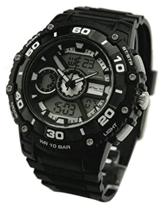 Q and Q Attractive Men Dual Time Digital N Analog Sport Watch