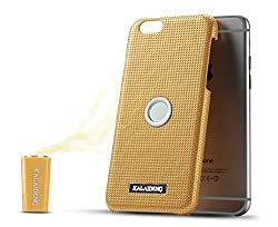 Kalaideng KLD Drive Series Back Cover for iPhone 6S Magnetic Air Vent Mount (Gold)