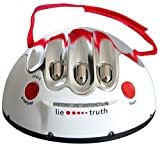Prestar Electric Shocking Lie Detector Machine True or Dare Game Gag Practical Joke Toys Polygraph Adult Party Shock Game Shocking Liar Detector for Ages 14+