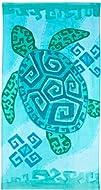 Tropix Geo Sea Turtle Beach Towel