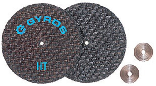 Gyros 11-32208 Fiber Disks HT Cut Off Wheels (For Dremel Type Tools), 2-Inch-Diameter - Set of 2 (2 Inch Disk Washer compare prices)