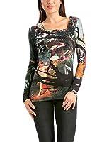Desigual - T-shirt à manches longues - Manches longues Femme