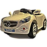 Mercedes AMG STYLE 12v Battery Powered Electric Ride On Sports Cars In White - Ages 2+ Years