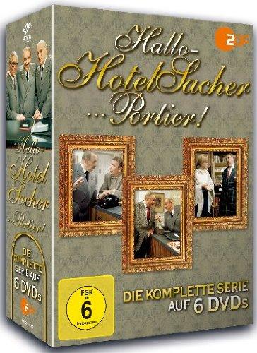 Hallo - Hotel Sacher...Portier! - Die komplette Serie [6 DVDs]