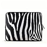 Zebra 7 Inch Tablet Ipad Mini Case Pouch Sleeve Stereo 6