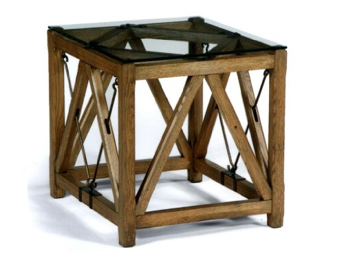 Cheap Flexsteel Rafters 6654-01 End Table (FST-6654-01)