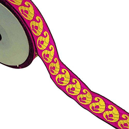 cinta-jacquard-bordado-35-cm-de-ancho-accesorios-de-costura-de-corte-india-por-1-yarda
