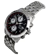 Xezo Mens Tribune Swiss Made Divers, 2nd Time Zone, GMT Automatic Self-Wind Luxury Chronograph watch. Valjoux 7754 Movement. 100 Meters WR. Sapphire Crystal. Birch Wood Box. Limited edition
