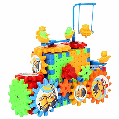 TOAOB-Motorized-Blocks-Spinning-Gear-Building-Toy-Set-TO-Childs-Learn-Colors-And-Shapes-81PCS