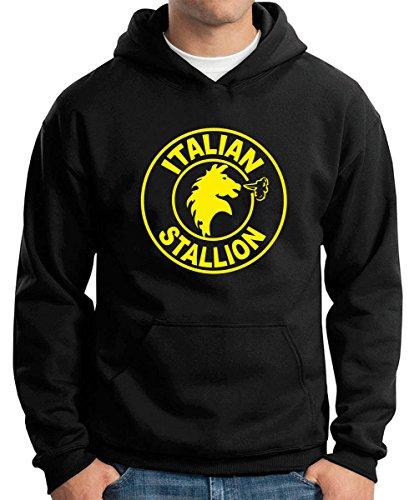 T-Shirtshock - Felpa Hoodie T0858 italian stallion film inspired, Taglia M