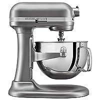 KitchenAid KL26M1XSL Professional 6-Qt. Bowl-Lift Stand Mixer - Silver