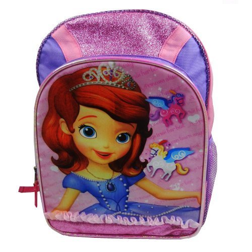 Disney Sofia The First Backpack - Pink & Purple