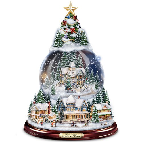 Thomas Kinkade cool snow globe