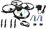 UDI U818A Combo Bundle 2.4GHz 4 CH 6 Axis Gyro RC Quadcopter...