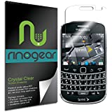 BlackBerry Bold Touch 9930 Screen Protector by RinoGear® - Military-Grade w/ Lifetime Replacement Warranty - Premium Shield Ultra Clear Quality