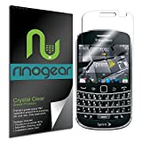 BlackBerry Bold Touch 9930 Screen Protector by RinoGear� - Military-Grade w/ Lifetime Replacement Warranty - Premium Shield Ultra Clear Quality ~ RinoGear