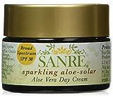 SanRe Organic Skinfood - Sparkling Aloe - Organic Aloe Vera Day Cream For Oily/Combination to Acne Prone Skin - SPF 30