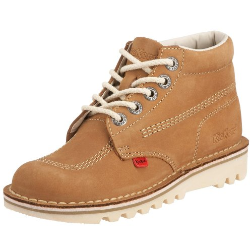 Kickers Kick Hi Core, Stivali da Donna, Colore Marrone (Tan/Natural), Taglia 36 EU (3 UK)