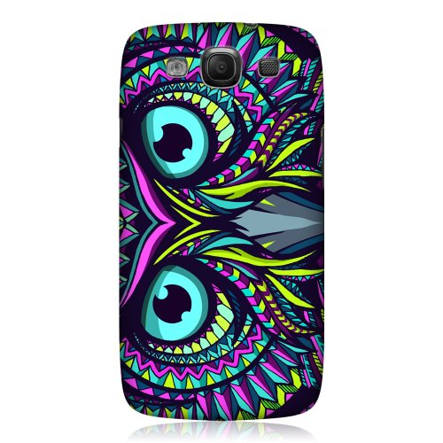 Head Case Designs Owl Aztec Animal Faces Hard Back Case Cover for Samsung Galaxy S3 III I9300