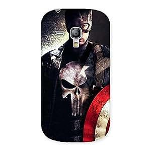 Punish Sheild Multicolor Back Case Cover for Galaxy S3 Mini