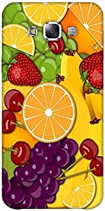 Snoogg Fruity 2428 Solid Snap On - Back Cover All Around Protection Forsamsun...