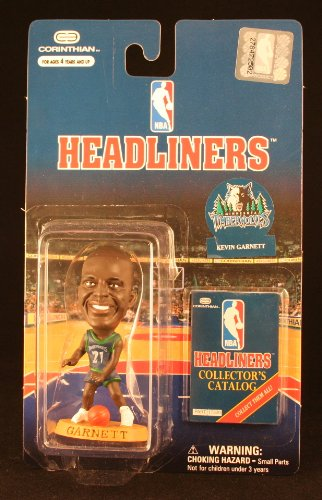 KEVIN GARNETT / MINNESOTA TIMBERWOLVES * 3 INCH * 1997 NBA Headliners Basketball Collector Figure