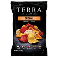 Terra Chips, Original, Sea Salt, 1 Ounce (Pack of 24)