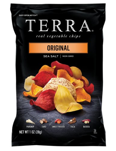 TERRA Original, Sea Salt, 1 Ounce (Pack of 24) (Terra Chip Sea Salt compare prices)