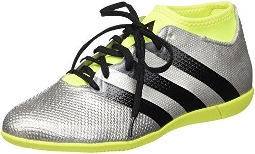 Adidas Ace 16.3 Prime AQ3418, Scarpe da Calcio Allenamento Uomo, Multicolore (Mesh Silvmt/Cblack/Syello), 42 EU