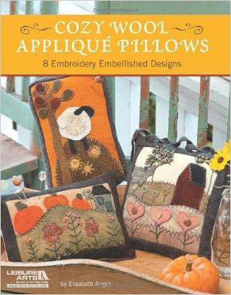 Cozy Wool Appliqué Pillows