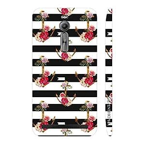 Enthopia Designer Hardshell Case Anchored Love Back Cover for Asus Zenfone 2