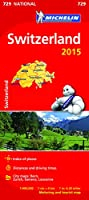 Switzerland 2015 - Michelin National Map 729 (Michelin National Maps)