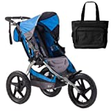 BOB ST1001 Sport Utility Stroller with Diaper Bag - Blue