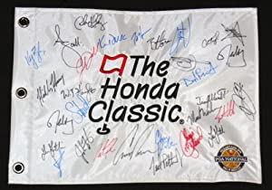 2014 Honda Classic Autographed Golf Flag - Adam Scott, Keegan Bradley, Luke Donald,... by BallPark Sports LLC.